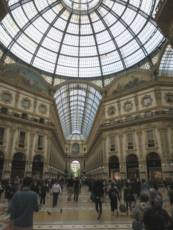 Girslweekend in Mailand: Galleria Vitorio Emanuele II