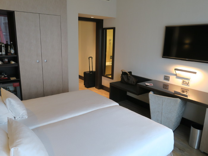Girlsweekend Mailand: Doppelzimmer NH Colletion President Hotel, Mailand