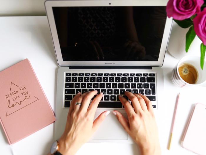 Meine Arbeit: Mein Blog Hamerlike - Mama Business Blog
