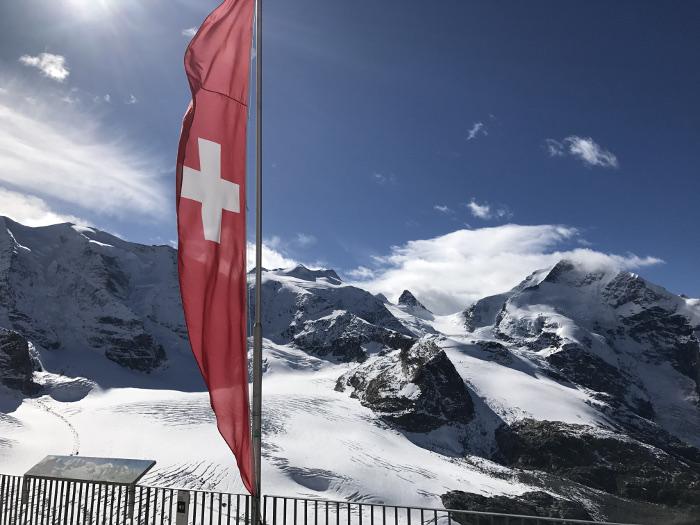 Diavolezza Gletscher, Graubünden, Schweiz