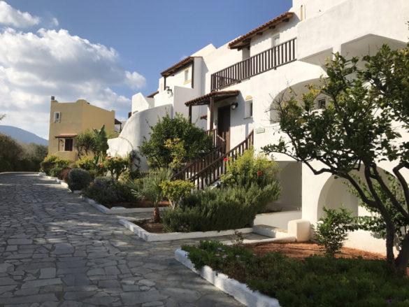 Hotel Alexander Beach auf Kreta - Ausschnitt Hotelanlage