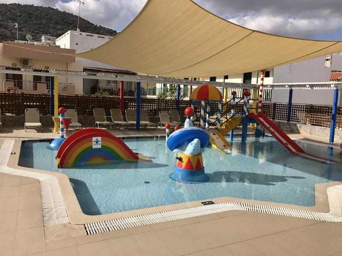 Hotel Alexander Beach auf Kreta - Baby- und Kinderpool