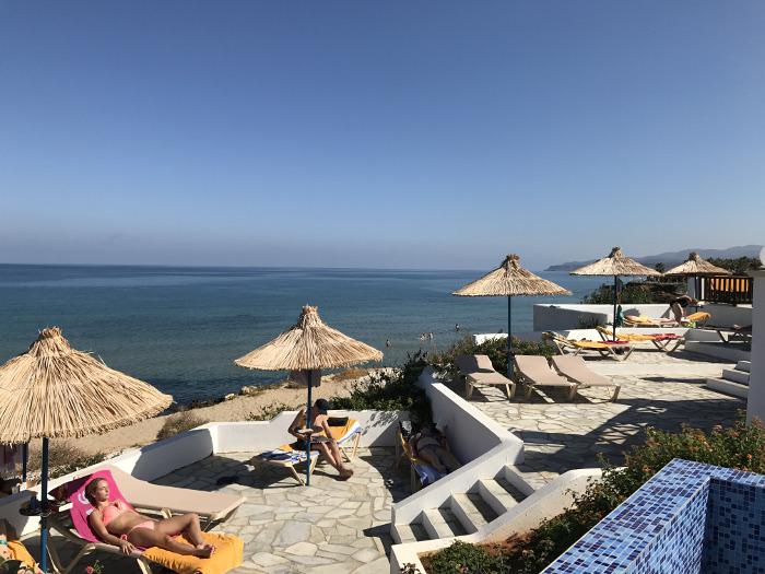 Hotel Alexander Beach auf Kreta Poolbereich