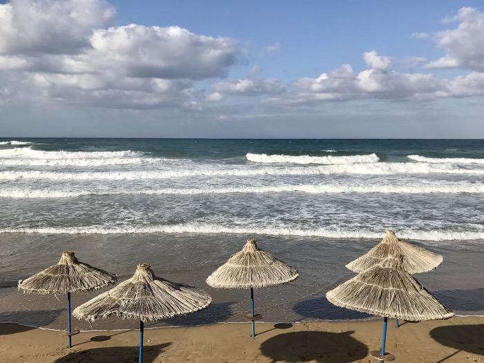 Hotel Alexander Beach auf Kreta - Strandabschnitt
