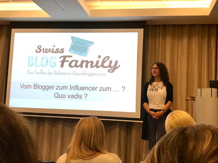 """Rita von """"Die Angelones"""" referiert an der Swiss Blog Family 2017"""