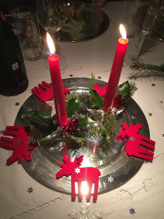 Die perfekte Tischdekoration an Weihnachten