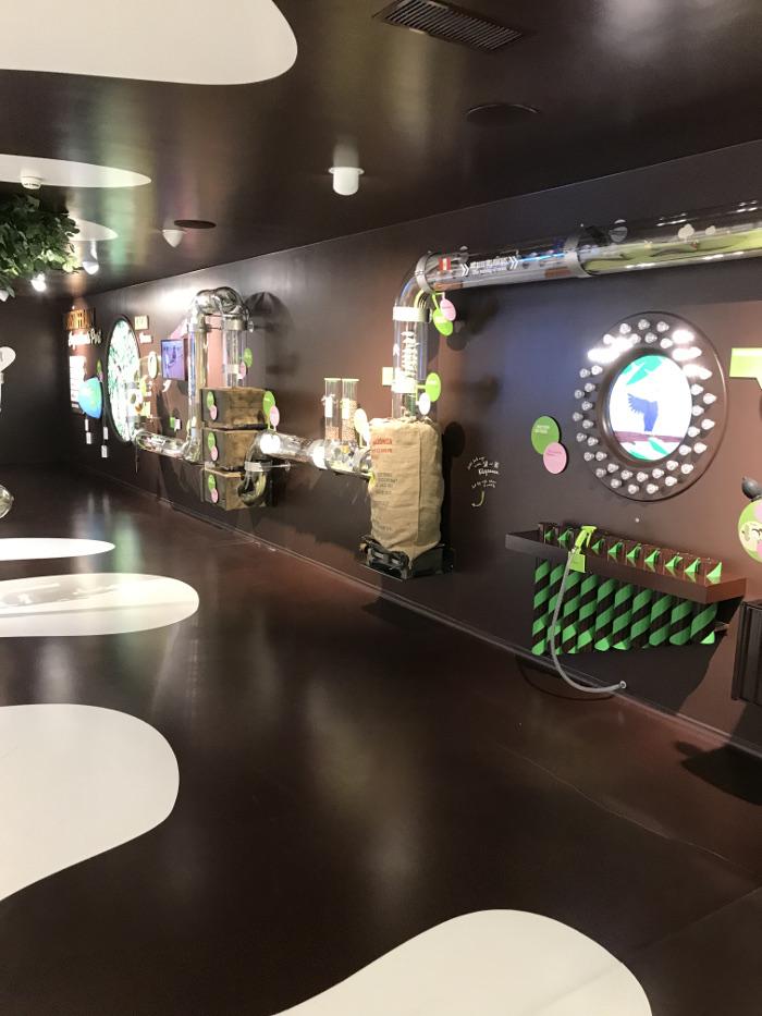 Maestrani's Chocolarium: Der Rohstoffraum