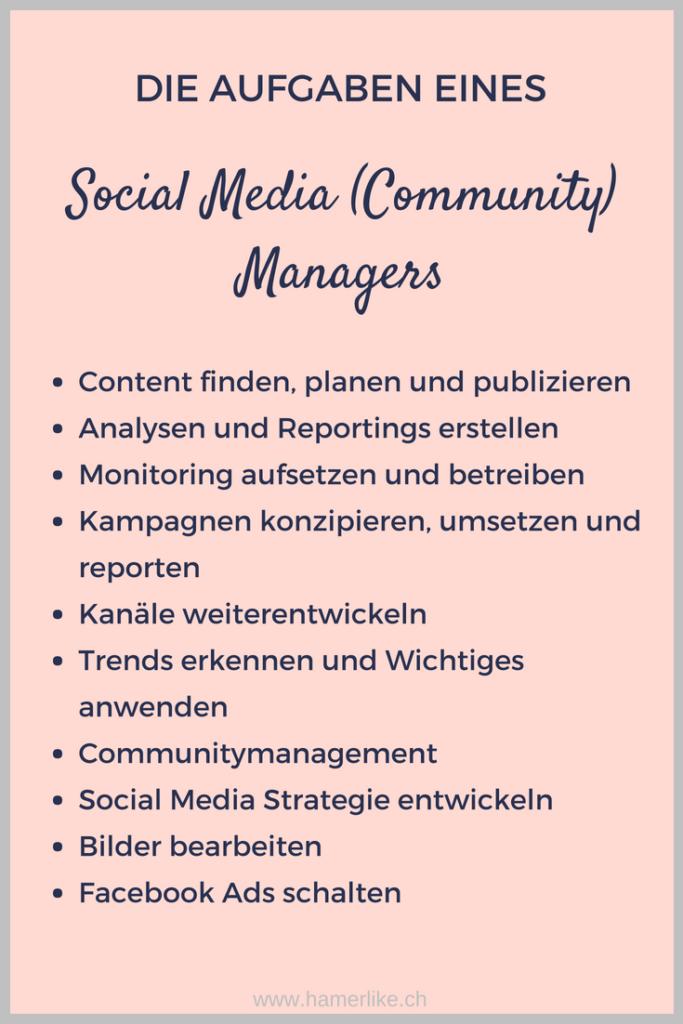 Die Aufgaben eines Social Media Community Managers