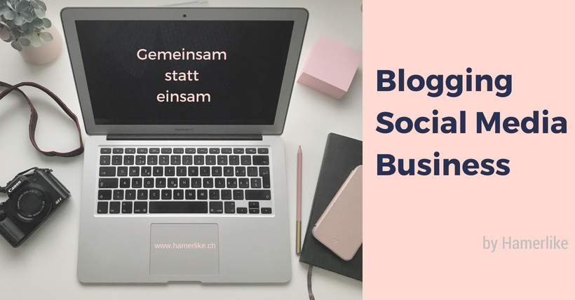 Facebook Gruppe Blogging | Social Media | Business - by Hamerlike: Gemeinsam statt einsam!
