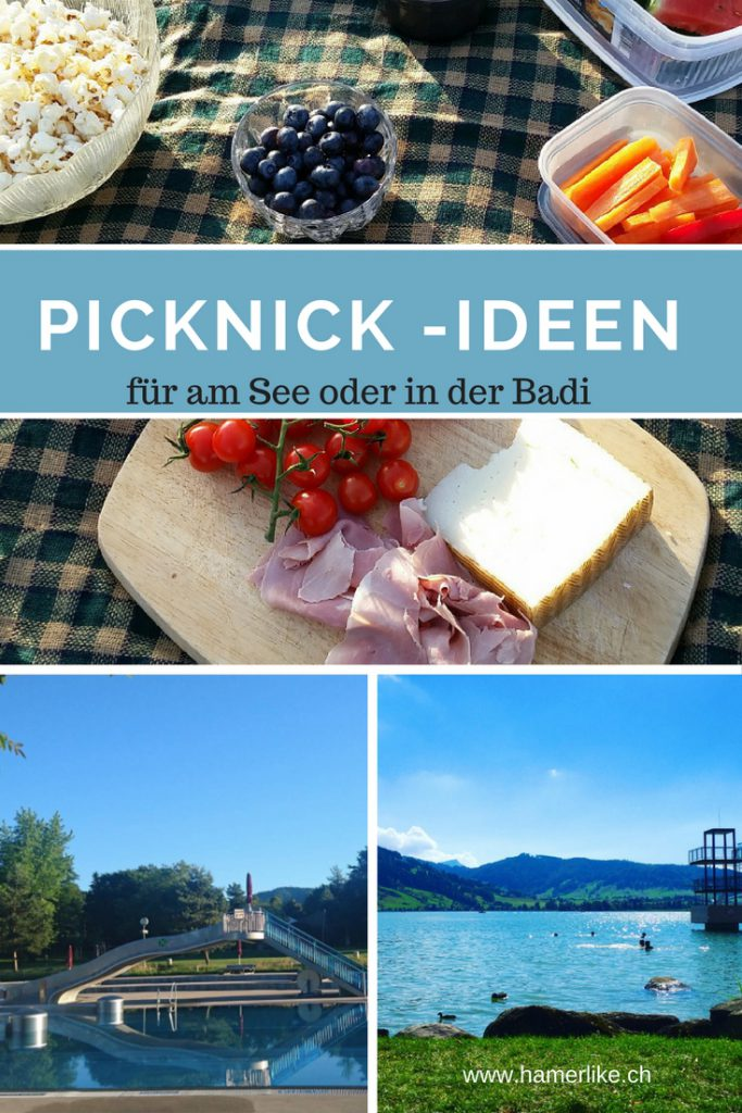 Picknick-Ideen für am See oder in der Badi