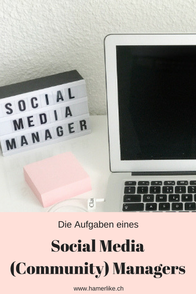 Die Aufgaben eines Social Media Community Managers.