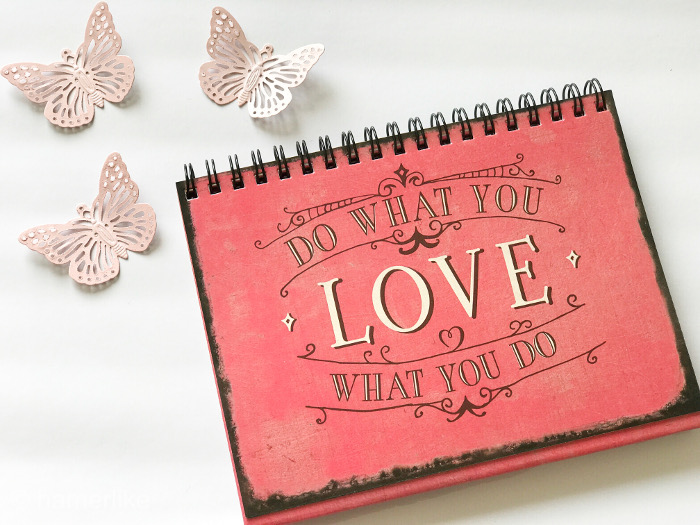Zu einer Leidenschaft gehört: Do what you love what you do!