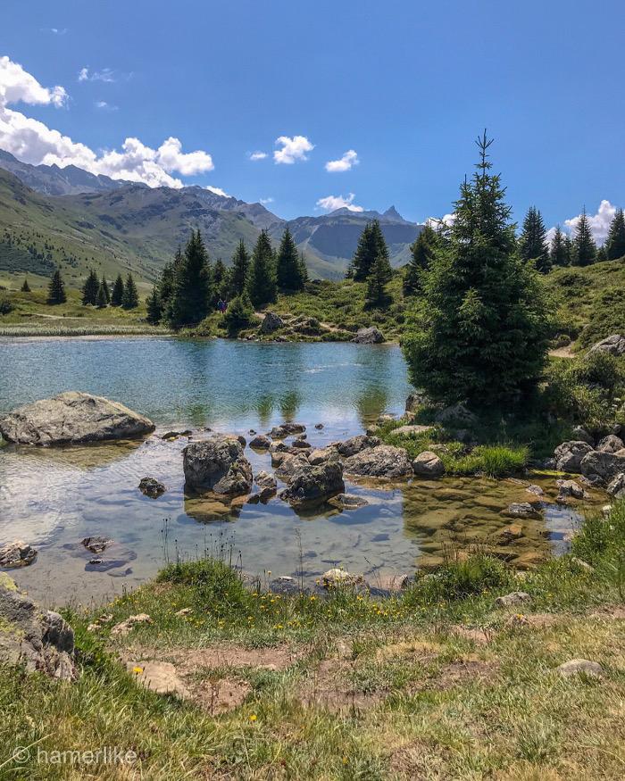 Sommerferien in den Bergen: Bergsee - Parc Ela - Graunbünden - Schweiz