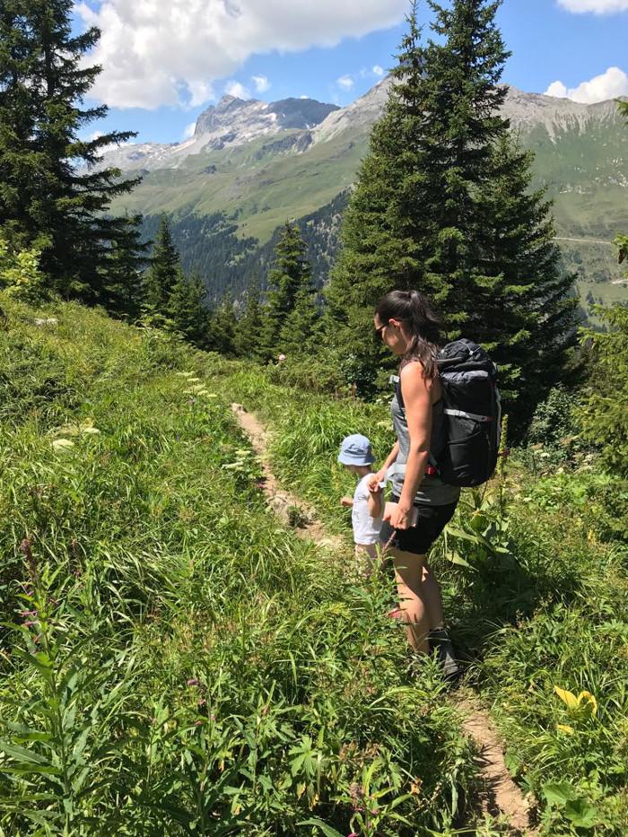 Sommrferien in den Bergen: Auch mit kleinen Kindern macht Wandern Spass