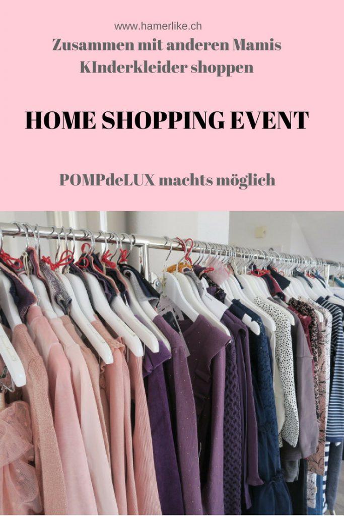 Home Sopping Event mit POMPdeLUX, die dänische Kinderkleidermark