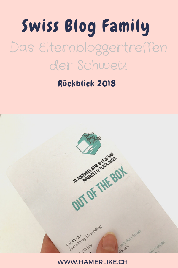 Swiss Blog Family 2018 - Rückblick