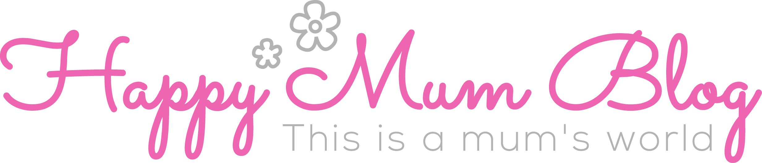 Logo Happy Mum Blog - This is a mum's world