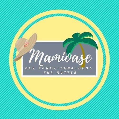 Logo Mamioase - der Power-Tank-Blog für Mütter