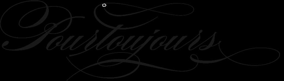 Logo Pourtoujours - ein kleiner, aber feiner Shop in Zürich