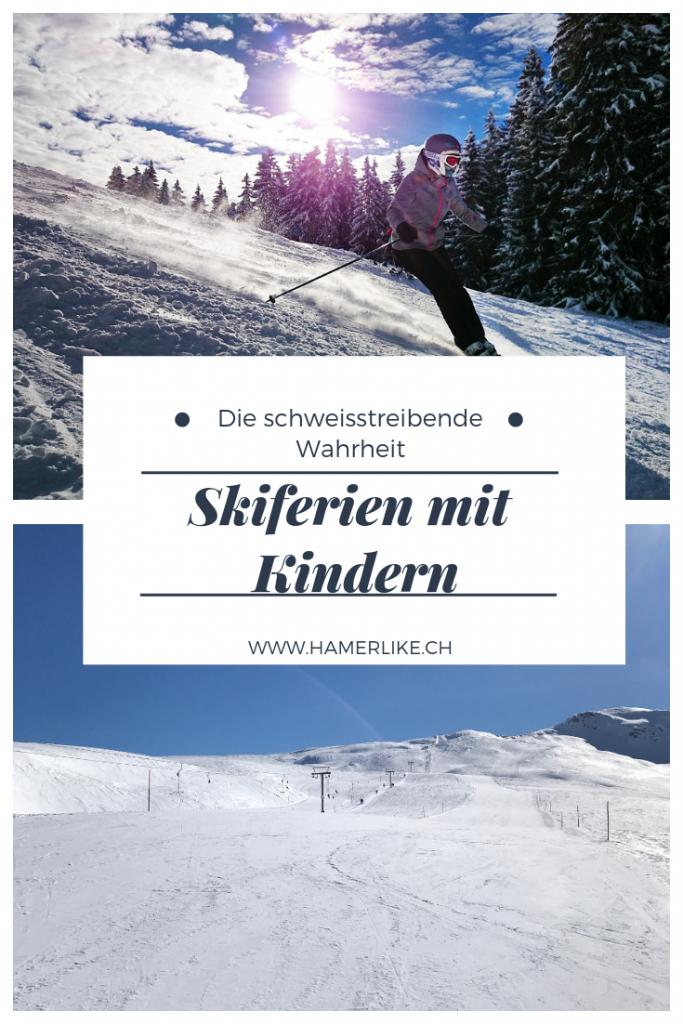 Skiferien mit Kindern: Die schweisstreibende Wahrheit